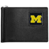 Michigan Wolverines Leather Bill Clip Wallet