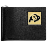 Colorado Buffaloes Leather Bill Clip Wallet