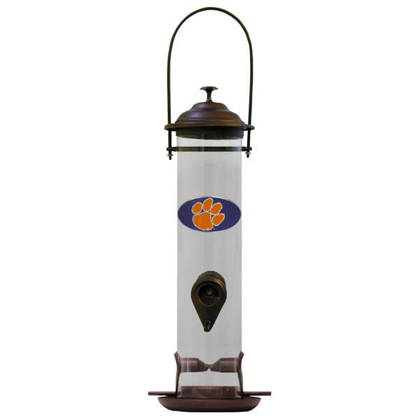 Clemson Tigers Thistle Bird Feeder