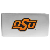Oklahoma St. Cowboys Logo Money Clip