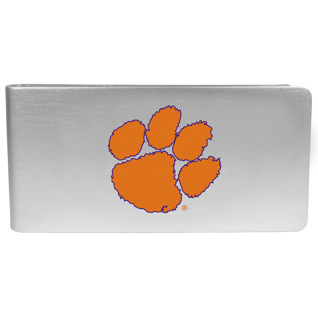 Clemson Tigers Logo Money Clip