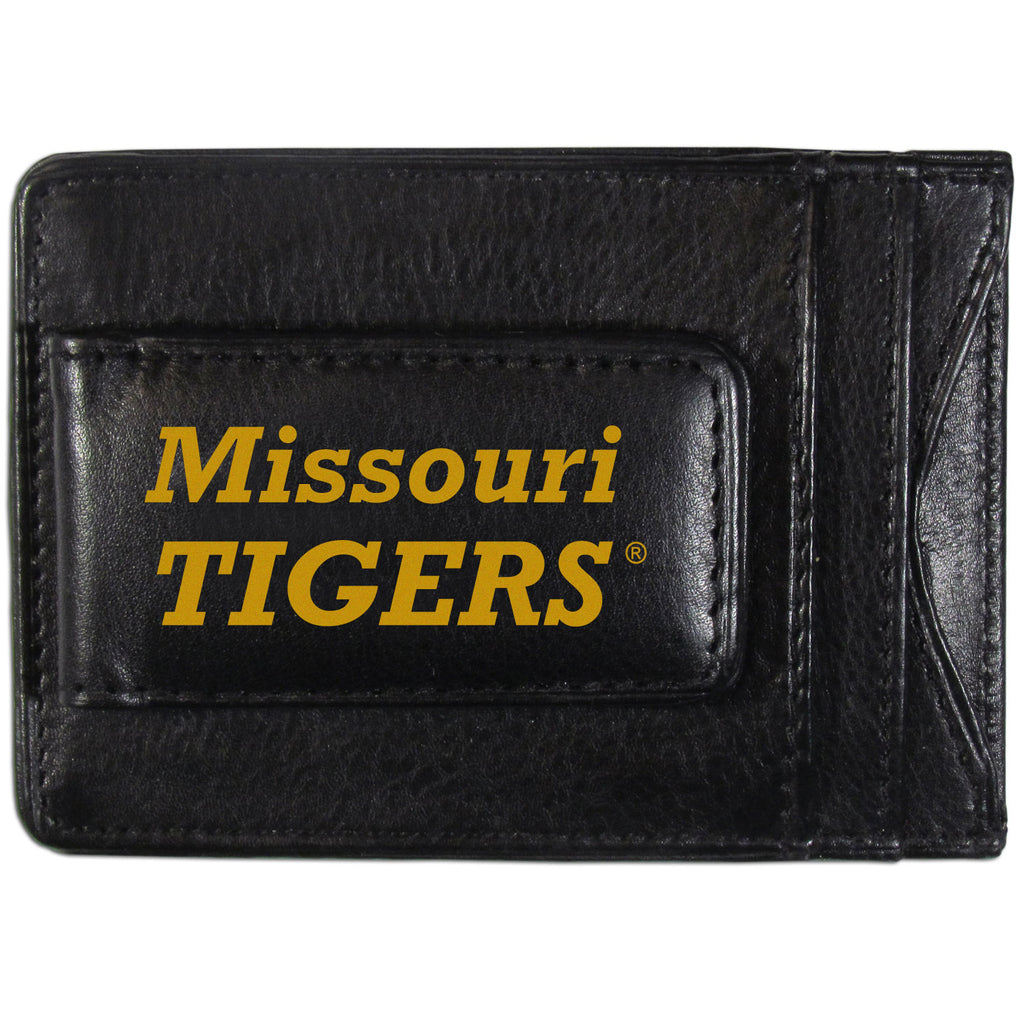 Missouri Tigers Logo Leather Cash and Cardholder