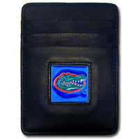 Florida Gators Leather Money Clip/Cardholder