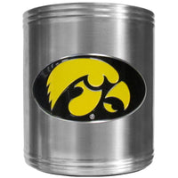 Iowa Hawkeyes Steel Can Cooler
