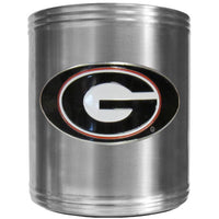Georgia Bulldogs Steel Can Cooler