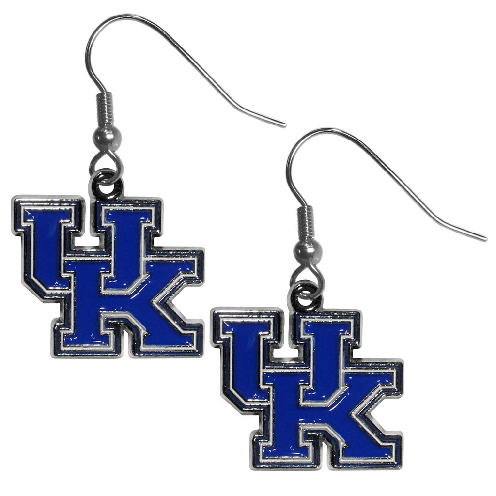 Kentucky Wildcats Chrome Dangle Earrings