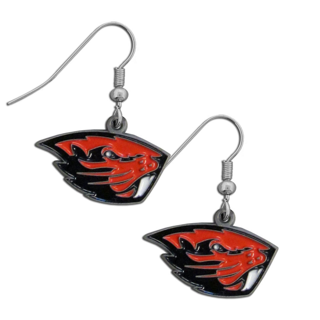 Oregon St. Beavers Dangle Earrings