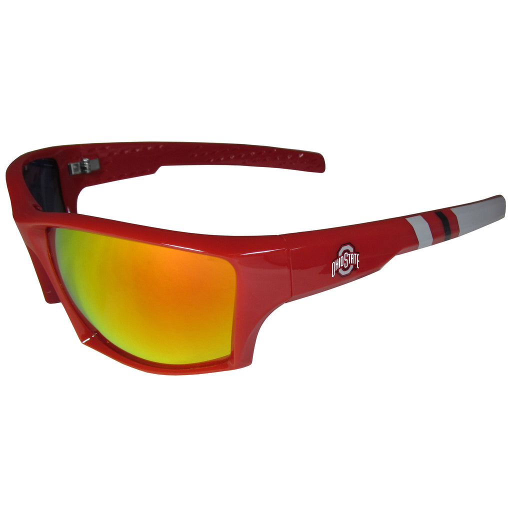 Ohio St. Buckeyes Edge Wrap Sunglasses