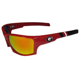 Georgia Bulldogs Edge Wrap Sunglasses