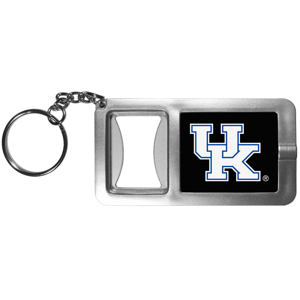 Kentucky Wildcats Flashlight Key Chain with Bottle Opener
