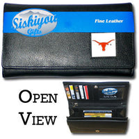 Texas Longhorns Leather Women's Wallet