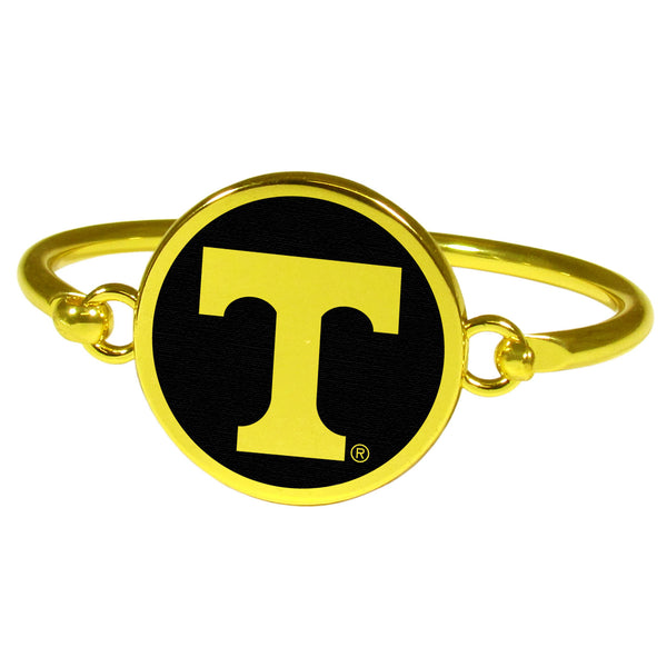 Tennessee Volunteers Gold Tone Bangle Bracelet
