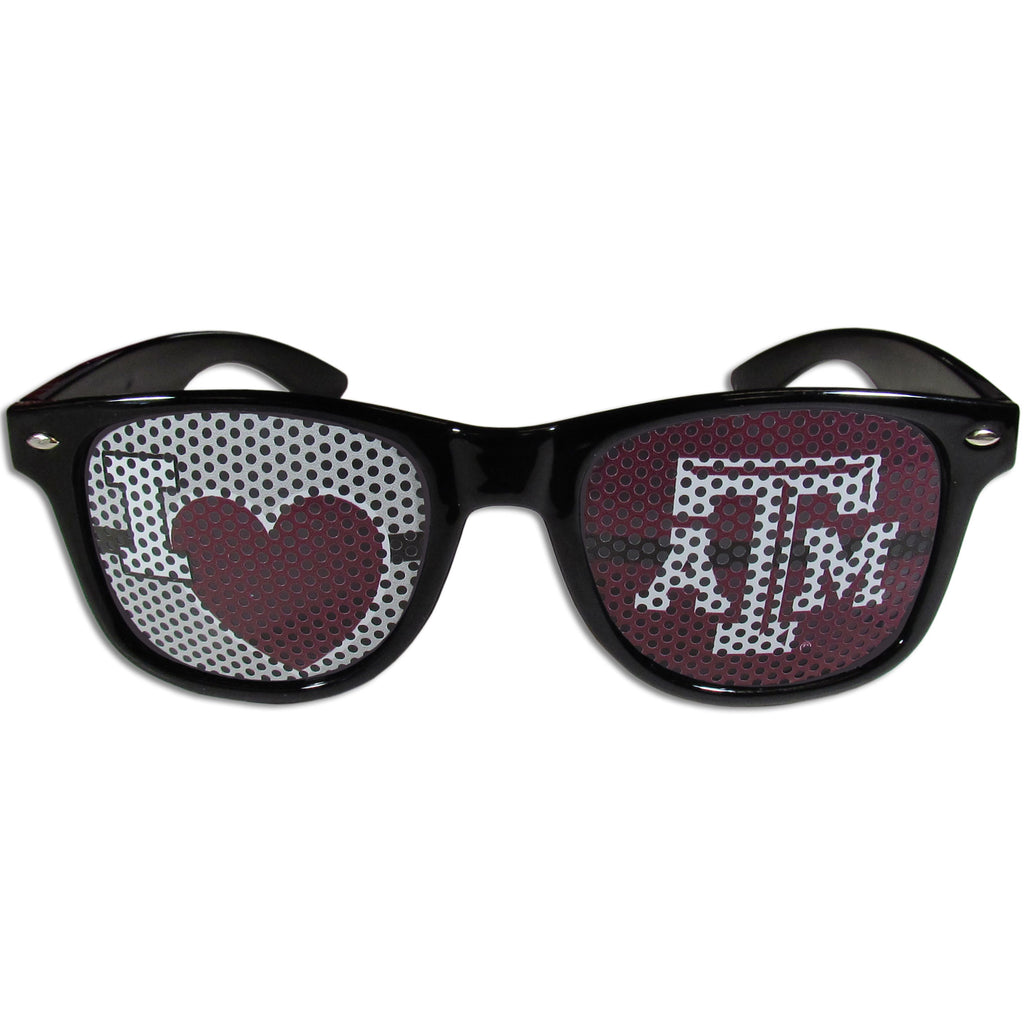 Texas A & M Aggies I Heart Game Day Shades
