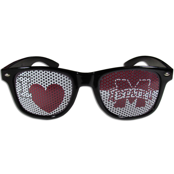 Mississippi St. Bulldogs I Heart Game Day Shades