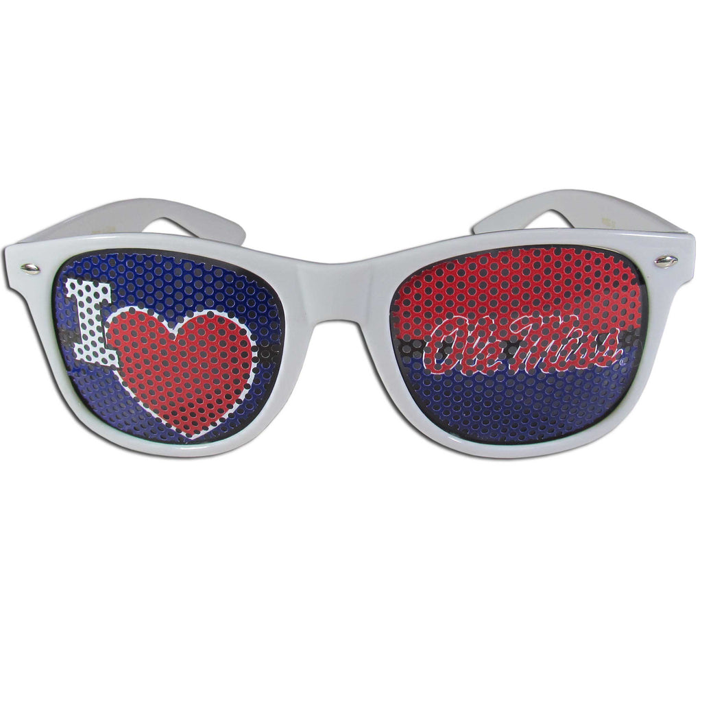 Mississippi Rebels I Heart Game Day Shades