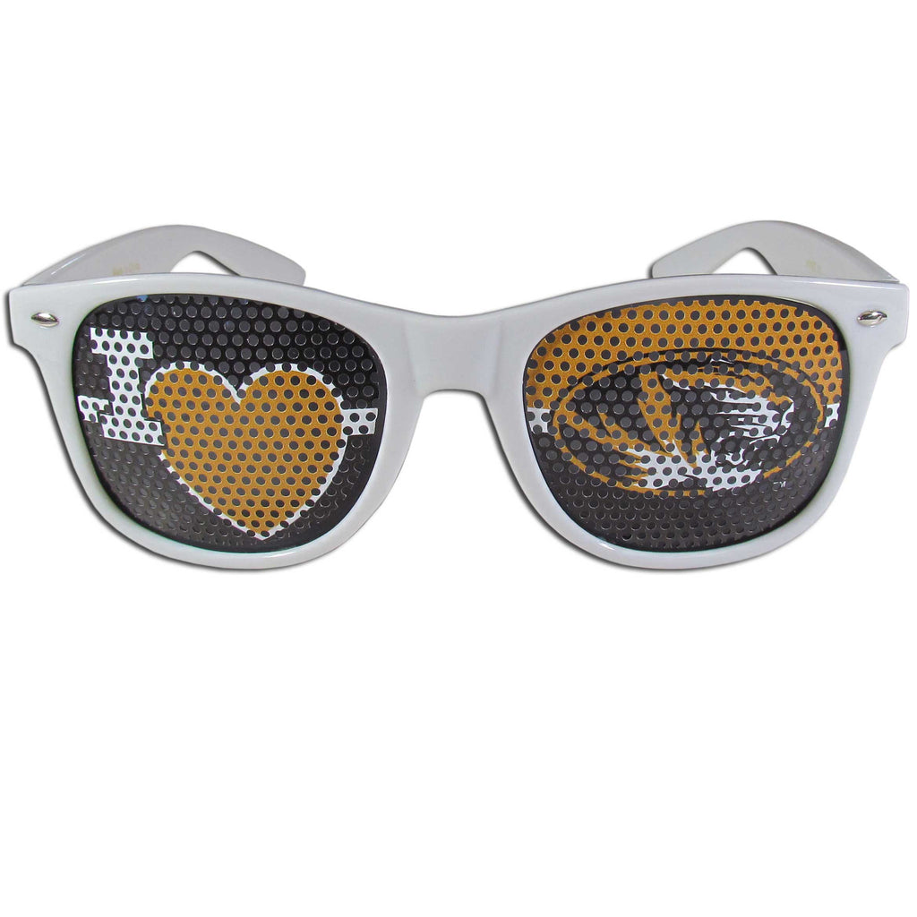 Missouri Tigers I Heart Game Day Shades