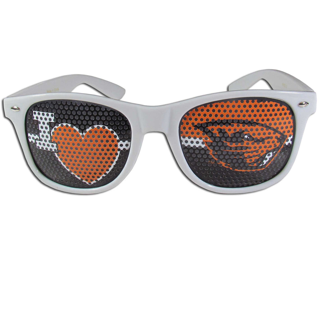 Oregon St. Beavers I Heart Game Day Shades