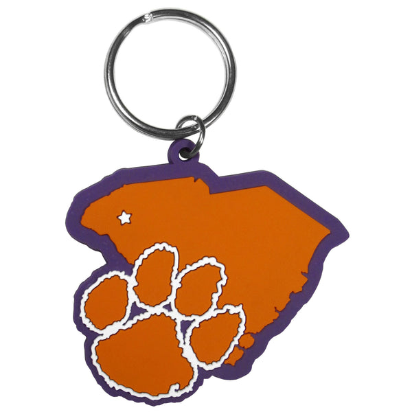 Clemson Tigers Home State Flexi Key Chain