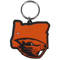 Oregon St. Beavers Home State Flexi Key Chain