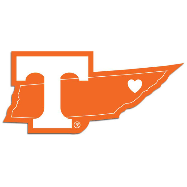 Tennessee Volunteers Home State Decal