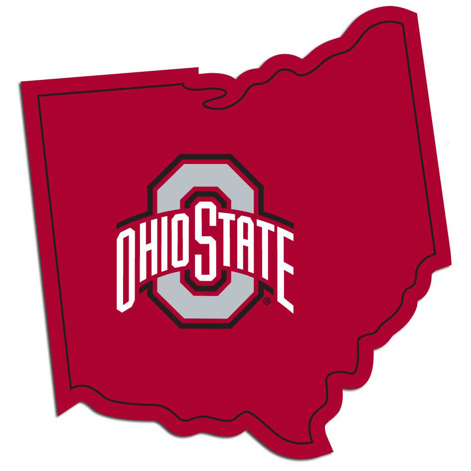 Ohio St. Buckeyes Home State Decal