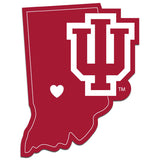 Indiana Hoosiers Home State Decal