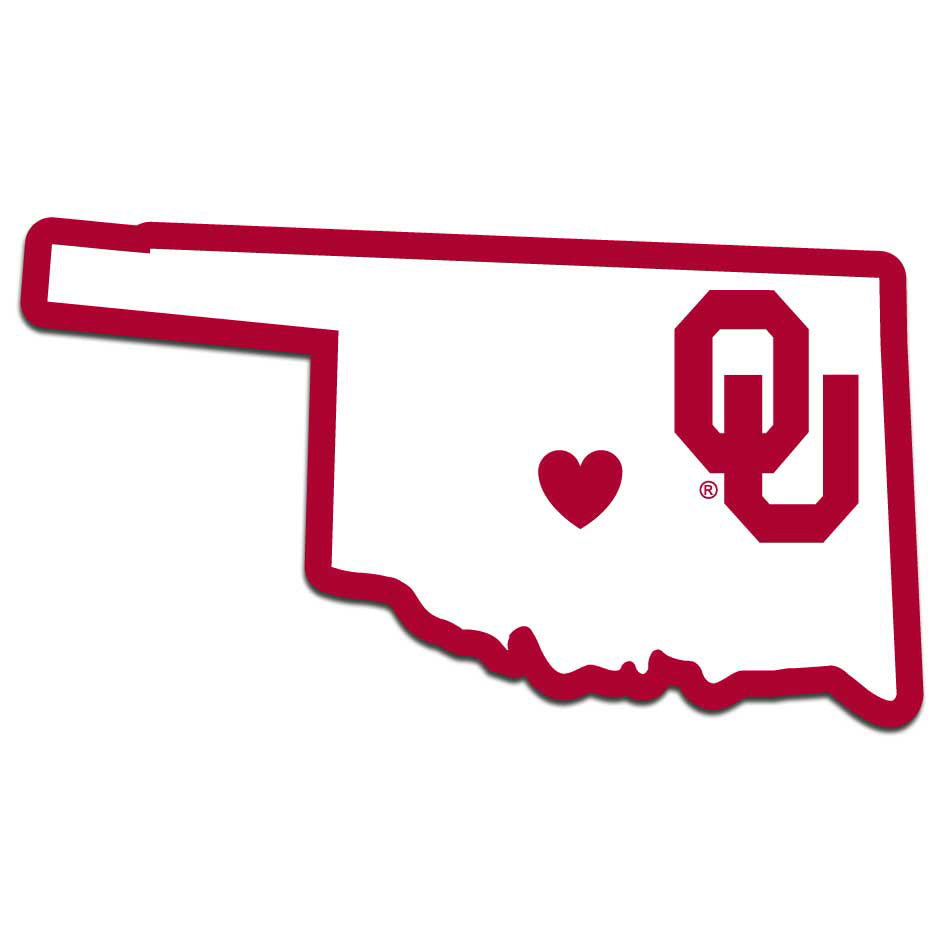 Oklahoma Sooners Home State Decal