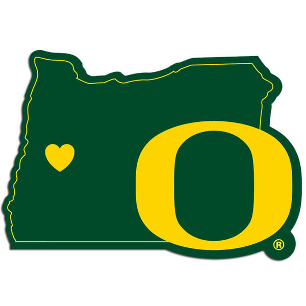 Oregon Ducks Home State Decal