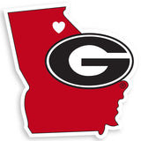 Georgia Bulldogs Home State Decal