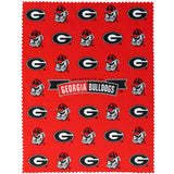 Georgia Bulldogs iPad Cleaning Cloth