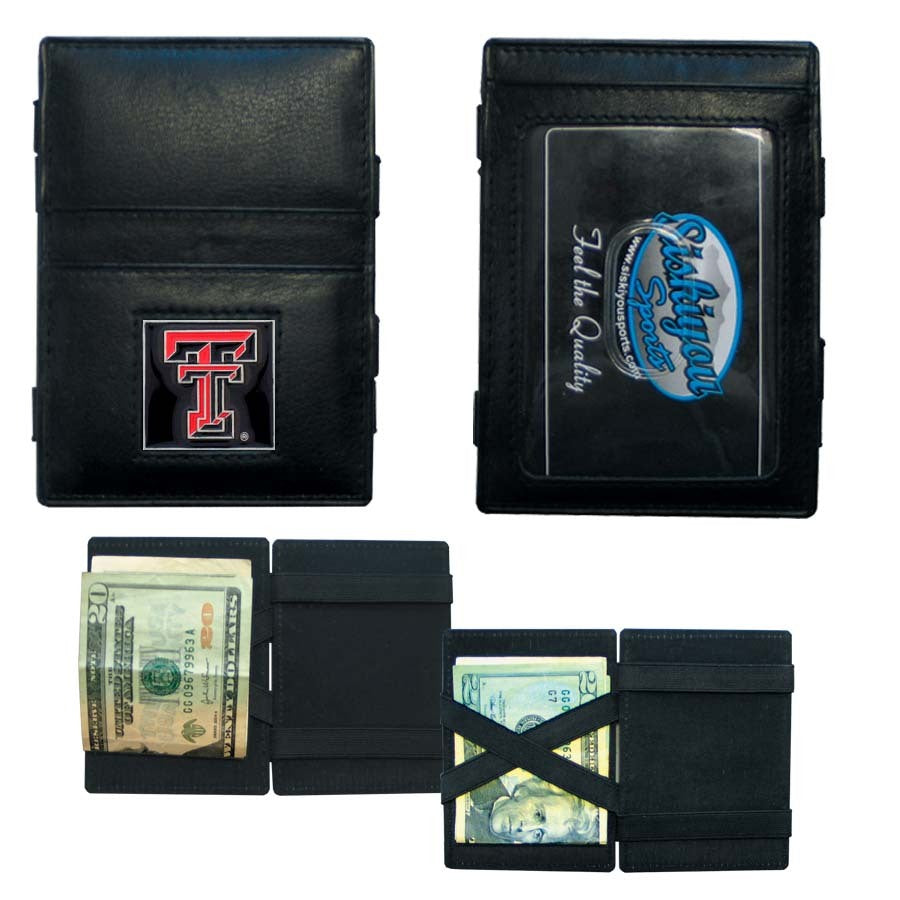 Texas Tech Raiders Leather Jacob's Ladder Wallet