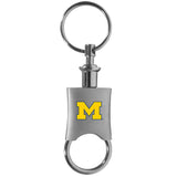 Michigan Wolverines Key Chain Valet Printed