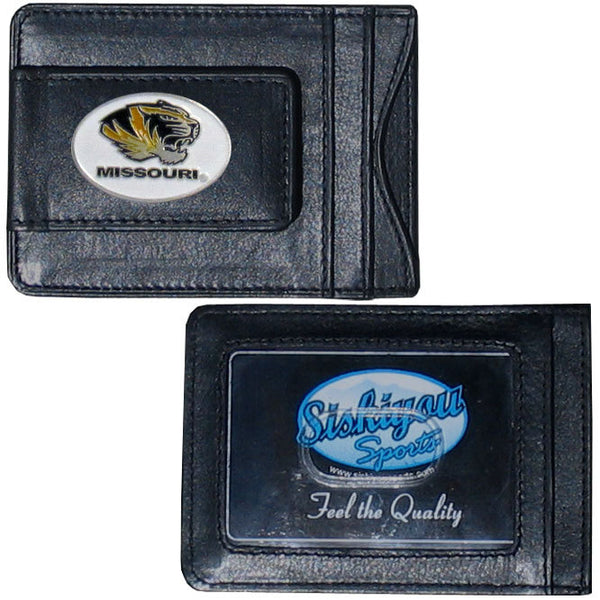 Missouri Tigers Leather Cash & Cardholder