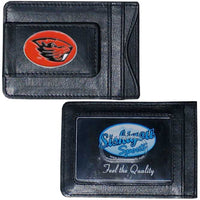 Oregon St. Beavers Leather Cash & Cardholder