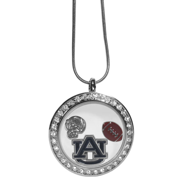 Auburn Tigers Locket Necklace