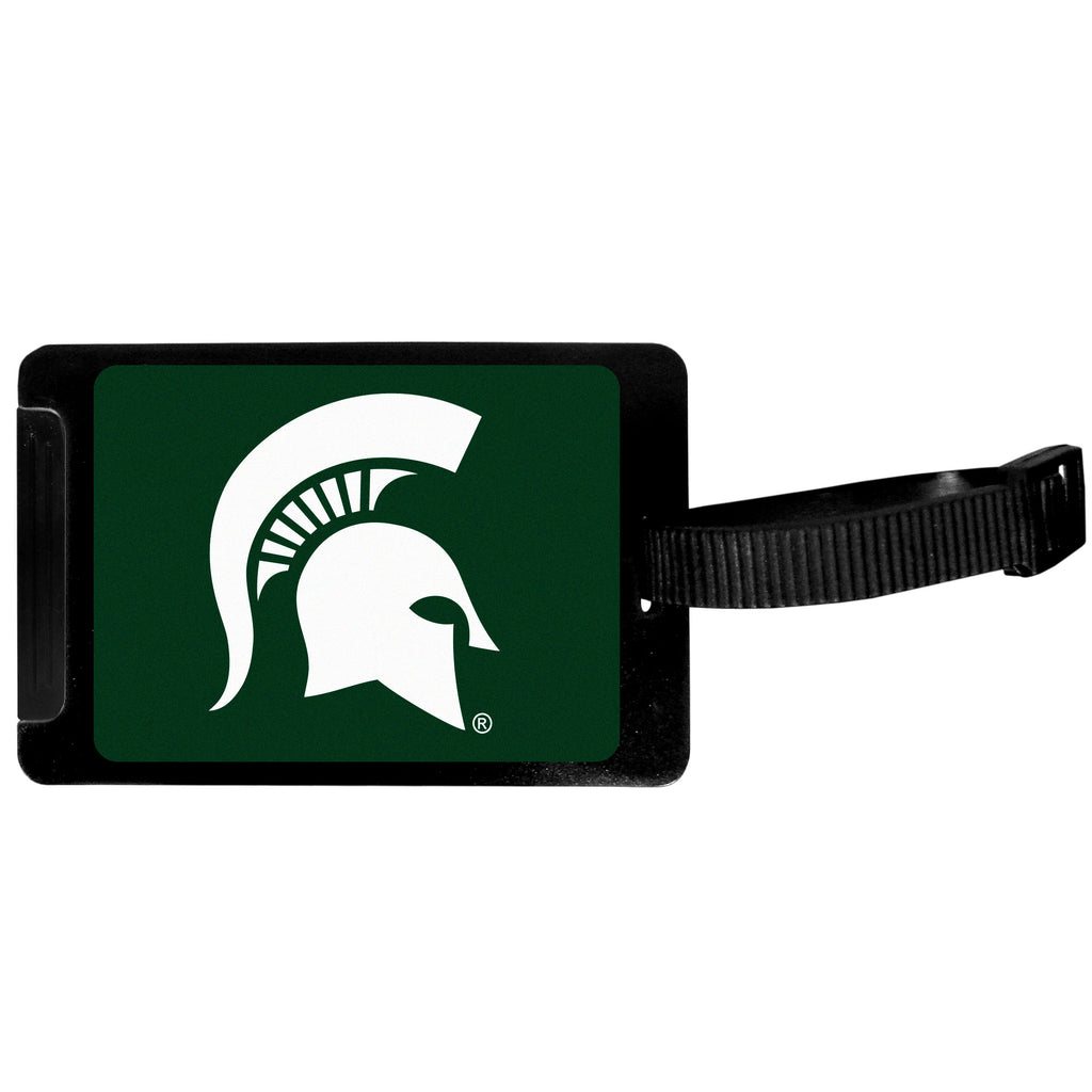 Michigan St. Spartans Luggage Tag
