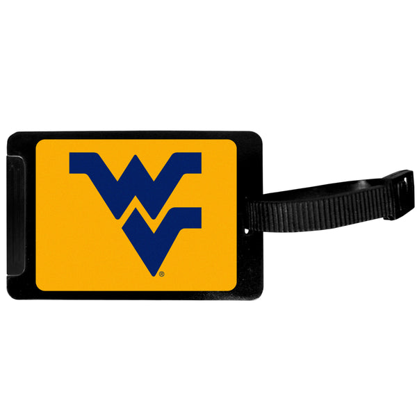 W. Virginia Mountaineers Luggage Tag