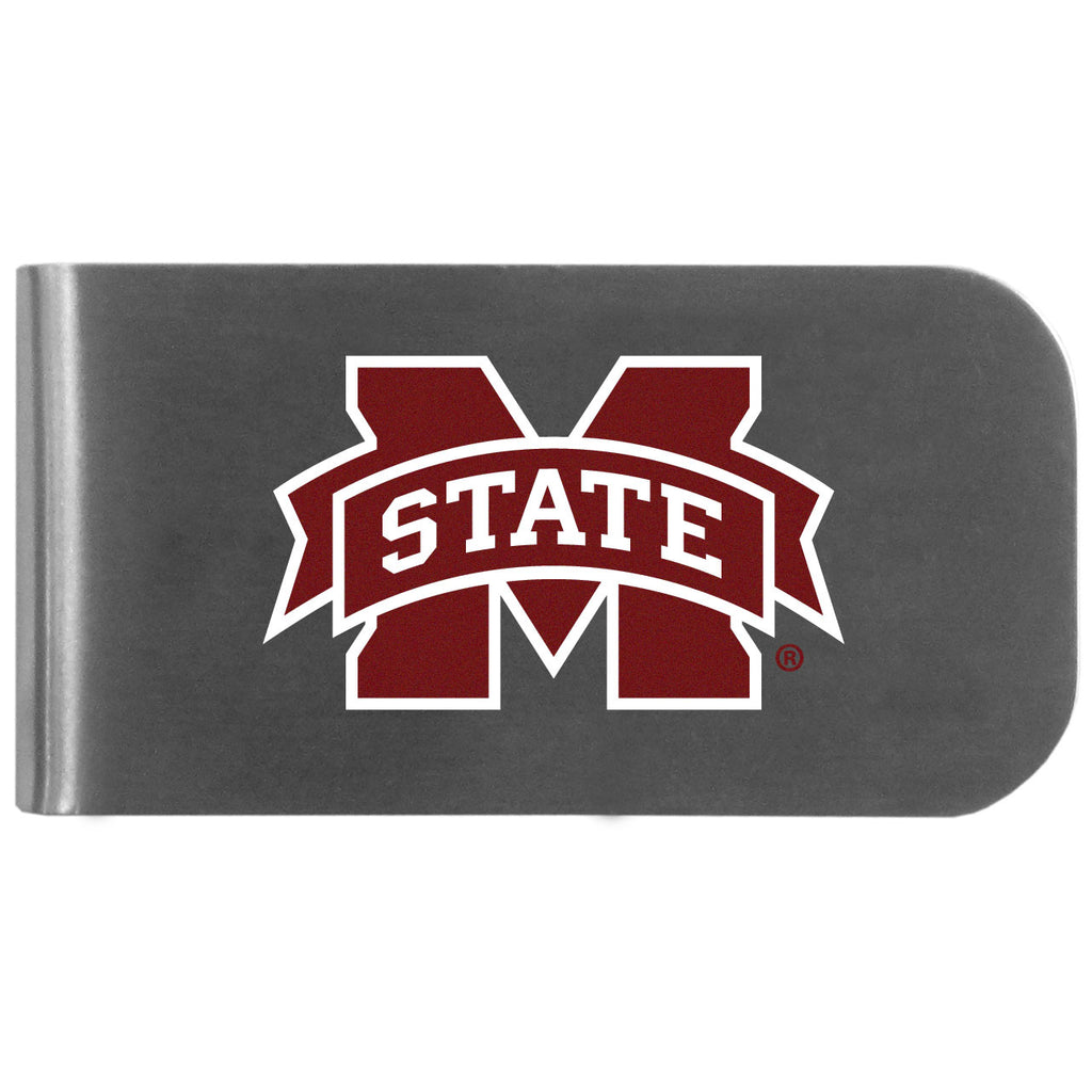 Mississippi St. Bulldogs Logo Bottle Opener Money Clip