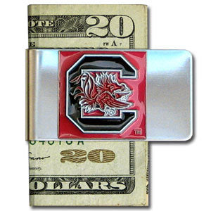 S. Carolina Gamecocks Steel Money Clip