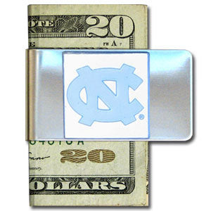N. Carolina Tar Heels Steel Money Clip