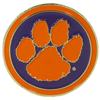 Clemson Tigers Golf Ball Marker, Logo