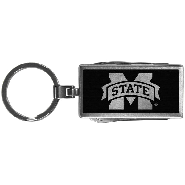 Mississippi St. Bulldogs Multi-tool Key Chain, Black