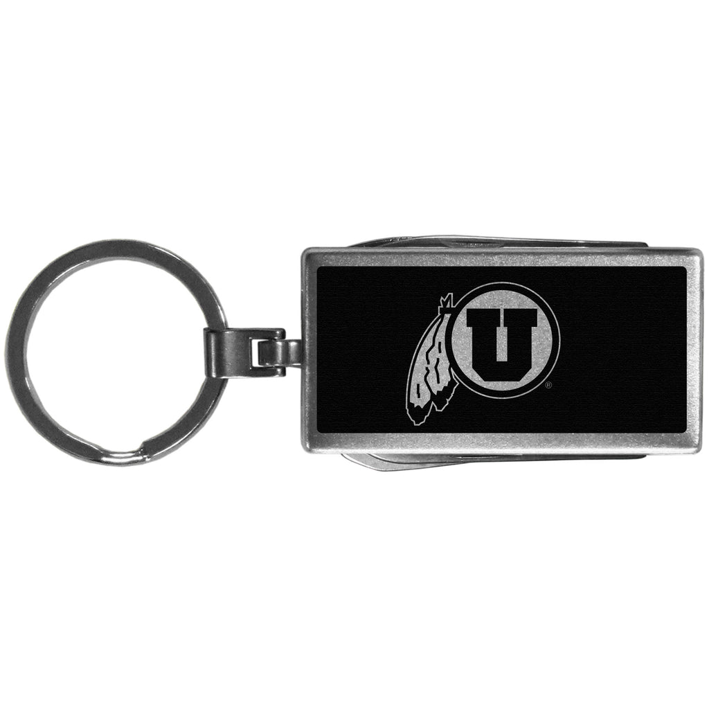 Utah Utes Multi-tool Key Chain, Black