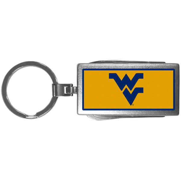 W. Virginia Mountaineers Multi-tool Key Chain, Logo