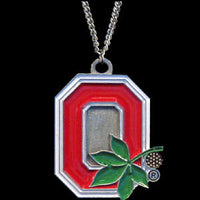 Ohio St. Buckeyes Chain Necklace