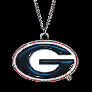 Georgia Bulldogs Chain Necklace