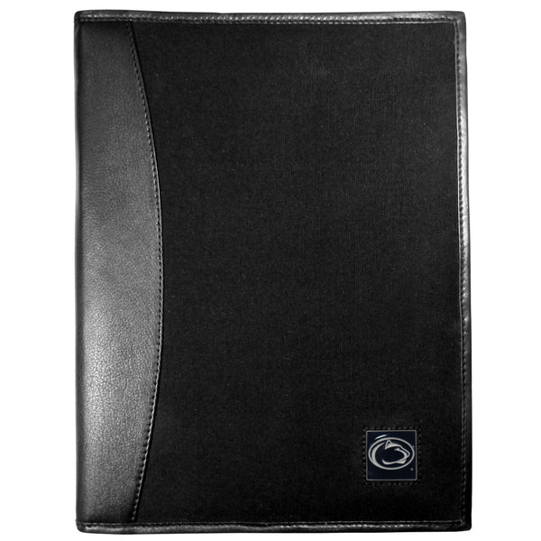 Penn St. Nittany Lions Leather and Canvas Padfolio