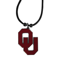 Oklahoma Sooners Cord Necklace