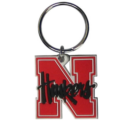 Nebraska Cornhuskers Flex Key Chain