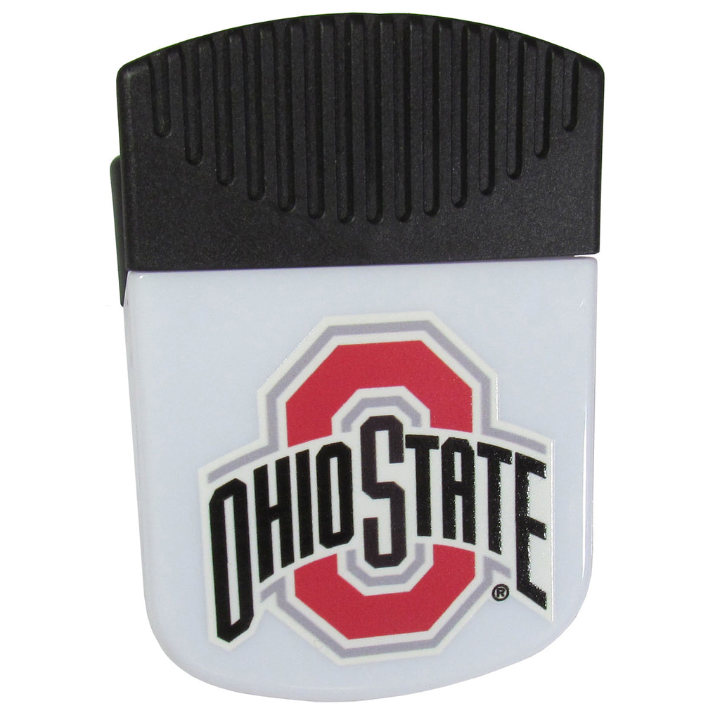 Ohio St. Buckeyes Chip Clip Magnet With Bottle Opener